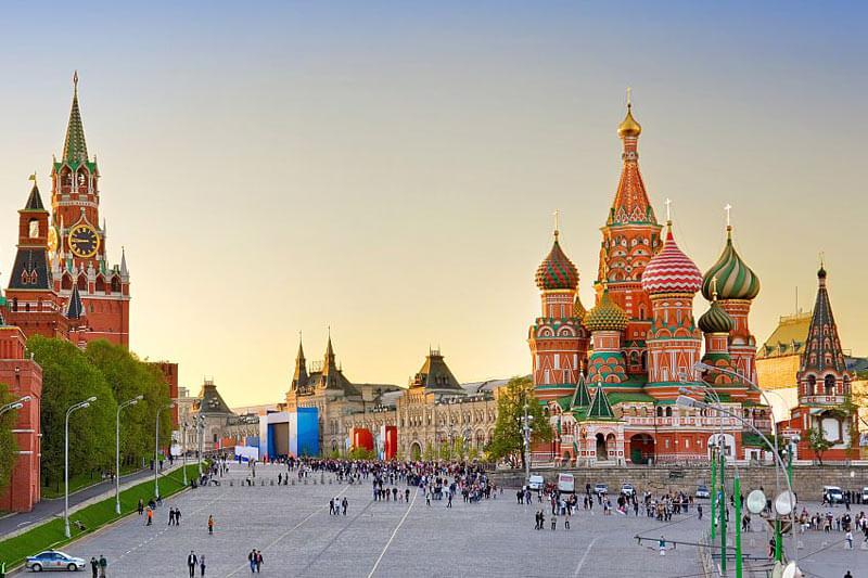 Reiseangebote nach Moskau & St. Petersburg