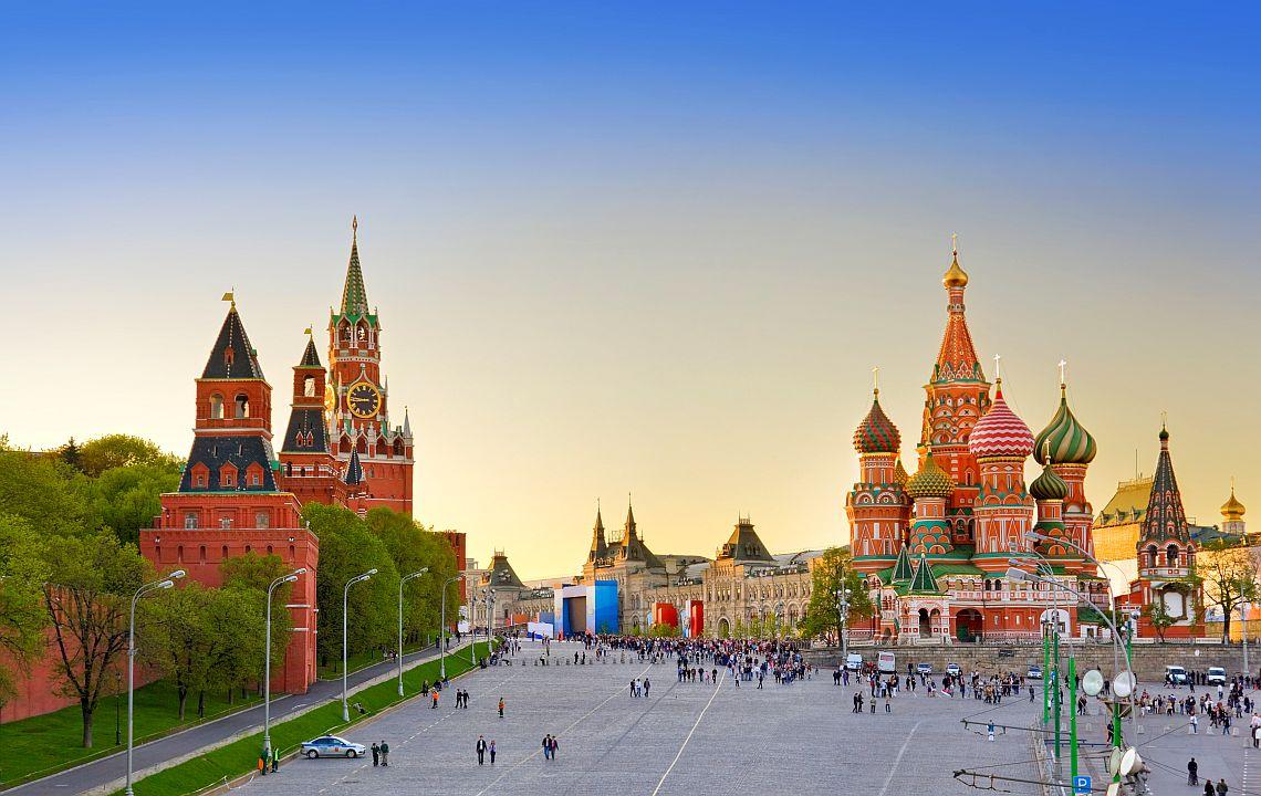 Die Basiliuskathedrale und der Rote Platz