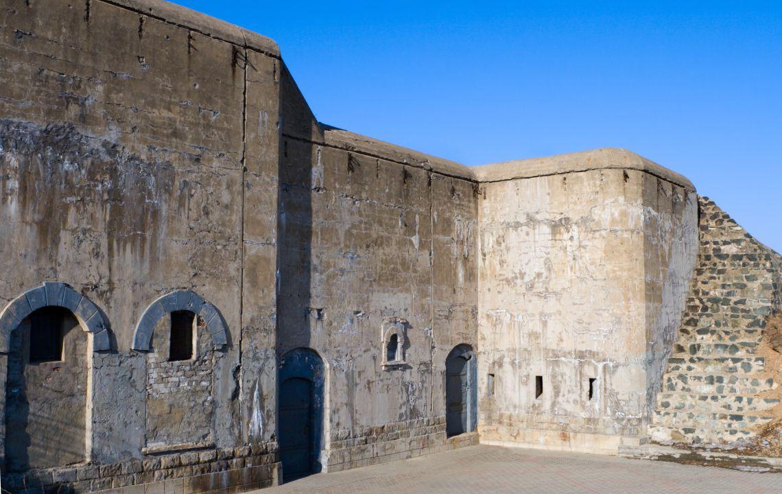 Wladiwostok. Teil von der Festung