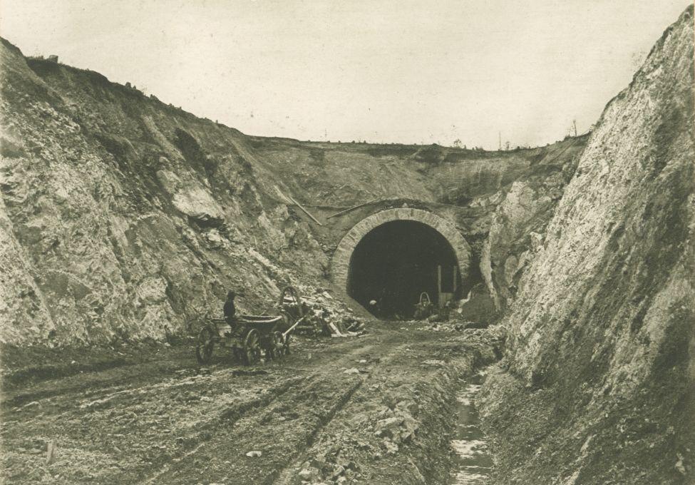 Tunnel am 587. Kilometer der Amur-Bahn