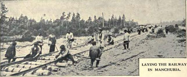 Bau der Ostchinesischen Bahn