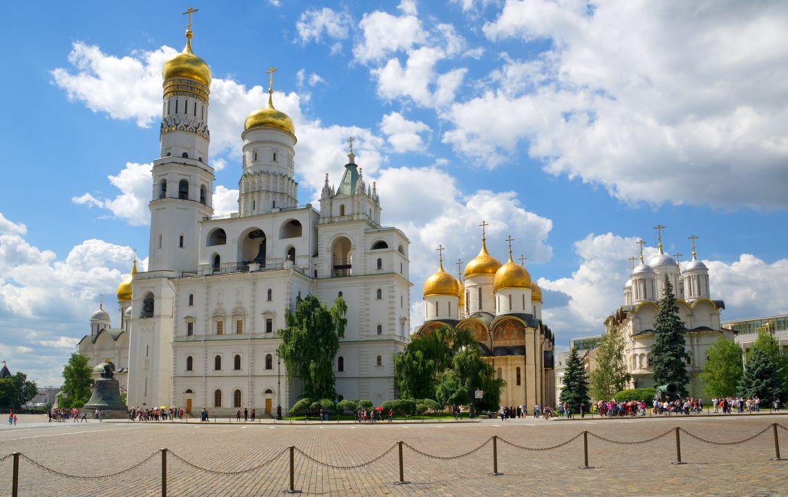 Moskauer Kreml. Glockenturm Iwan der Große