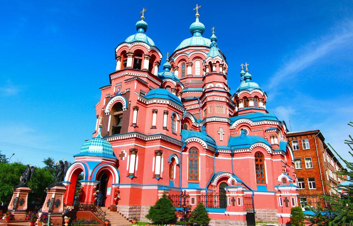 Kasaner Kirche in Irkutsk