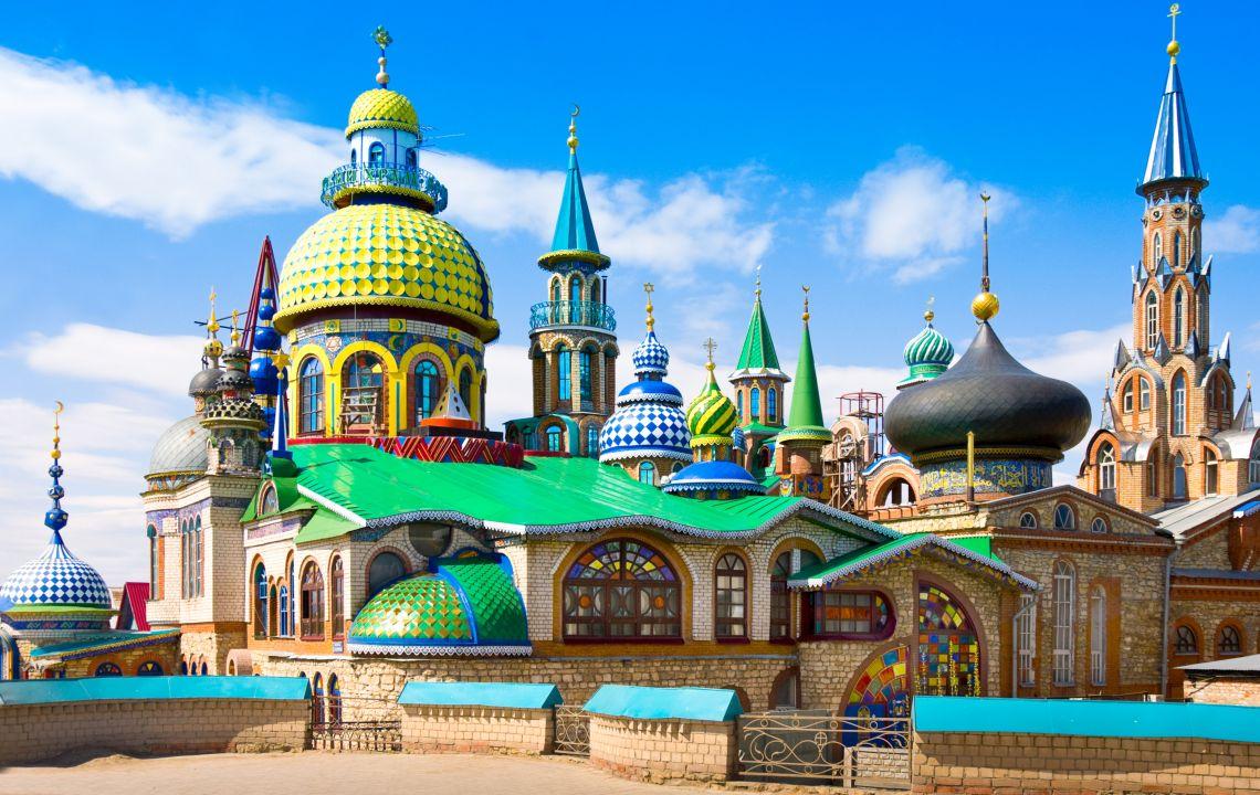 Kasan. Tempel aller Religionen