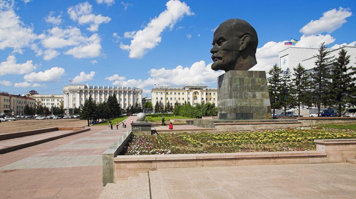 Leninplatz in Ulan-Ude
