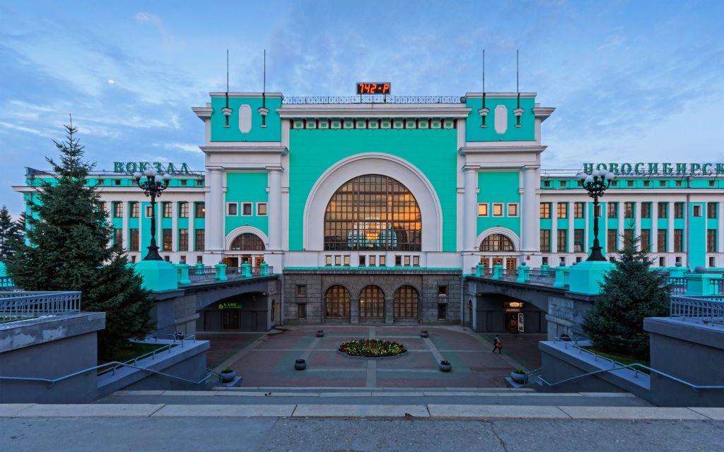 Bahnhof in Nowosibirsk