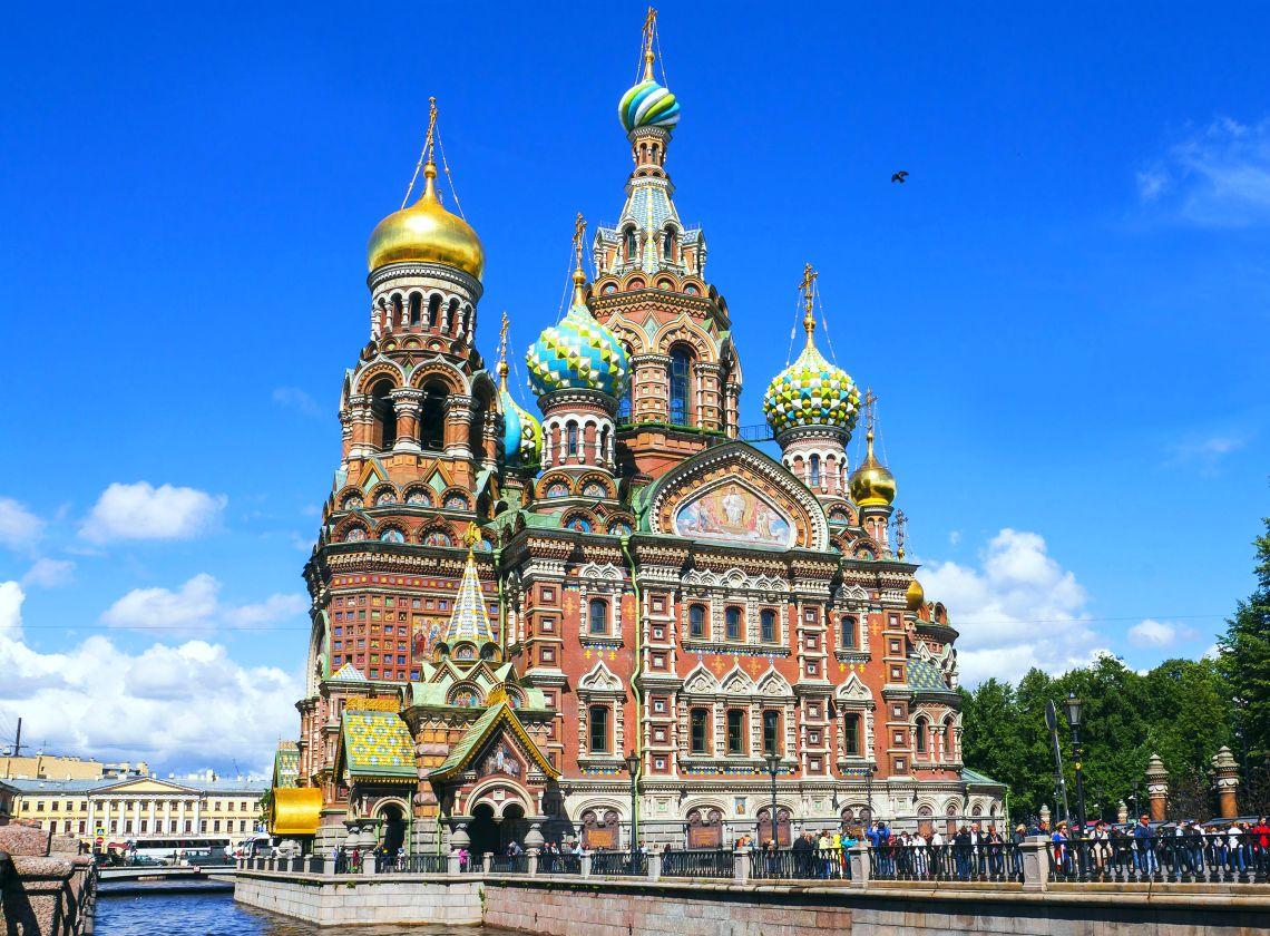 St. Petersburg. Die Auferstehungskathedrale