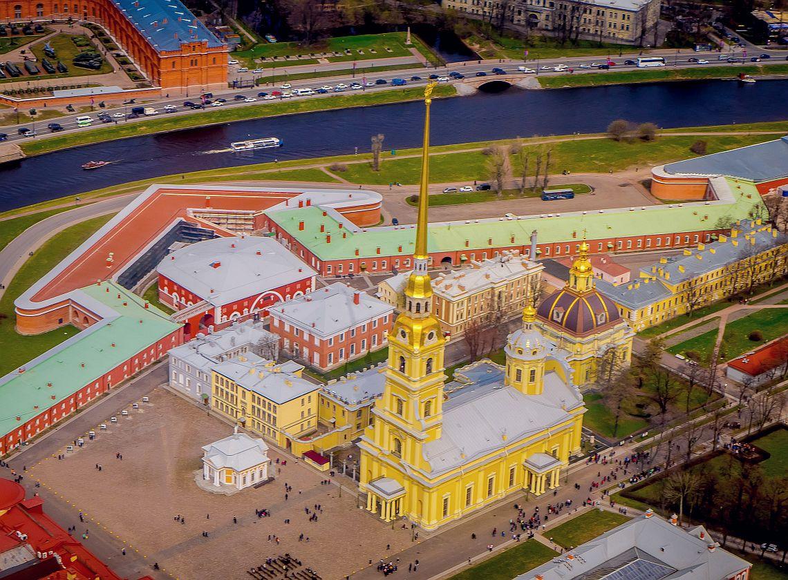 St. Petersburg. Die Peter- und Paul Festung