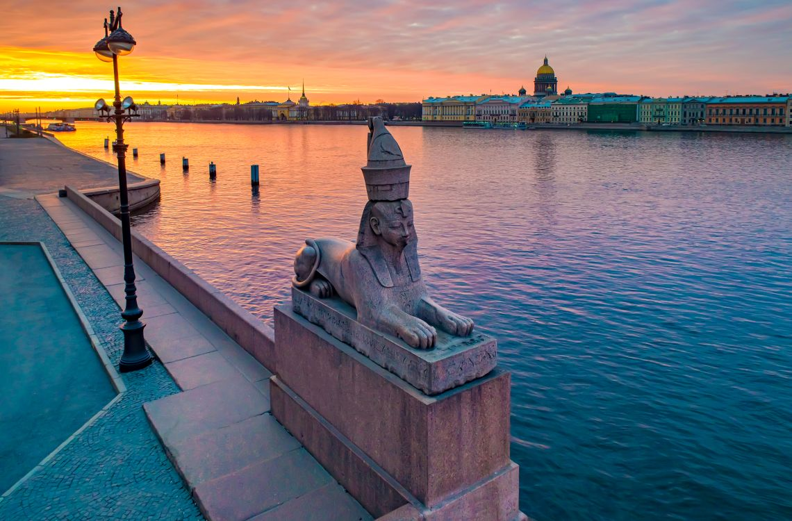 St. Petersburg. Der Universitätskai