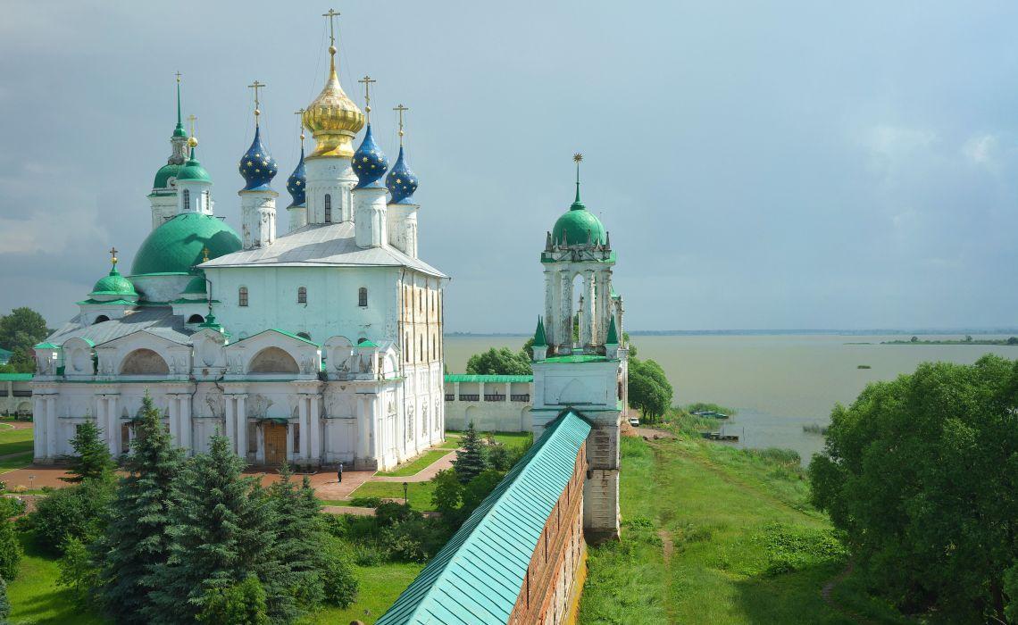 Erlöser-Jakowlew-Kloster in Rostow Welikij
