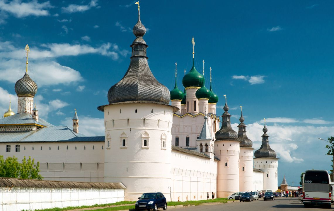 Kreml der alten Stadt von Rostow