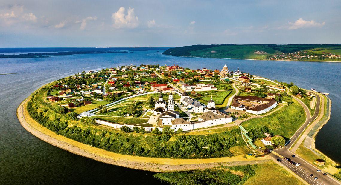 Dorf Swijaschsk