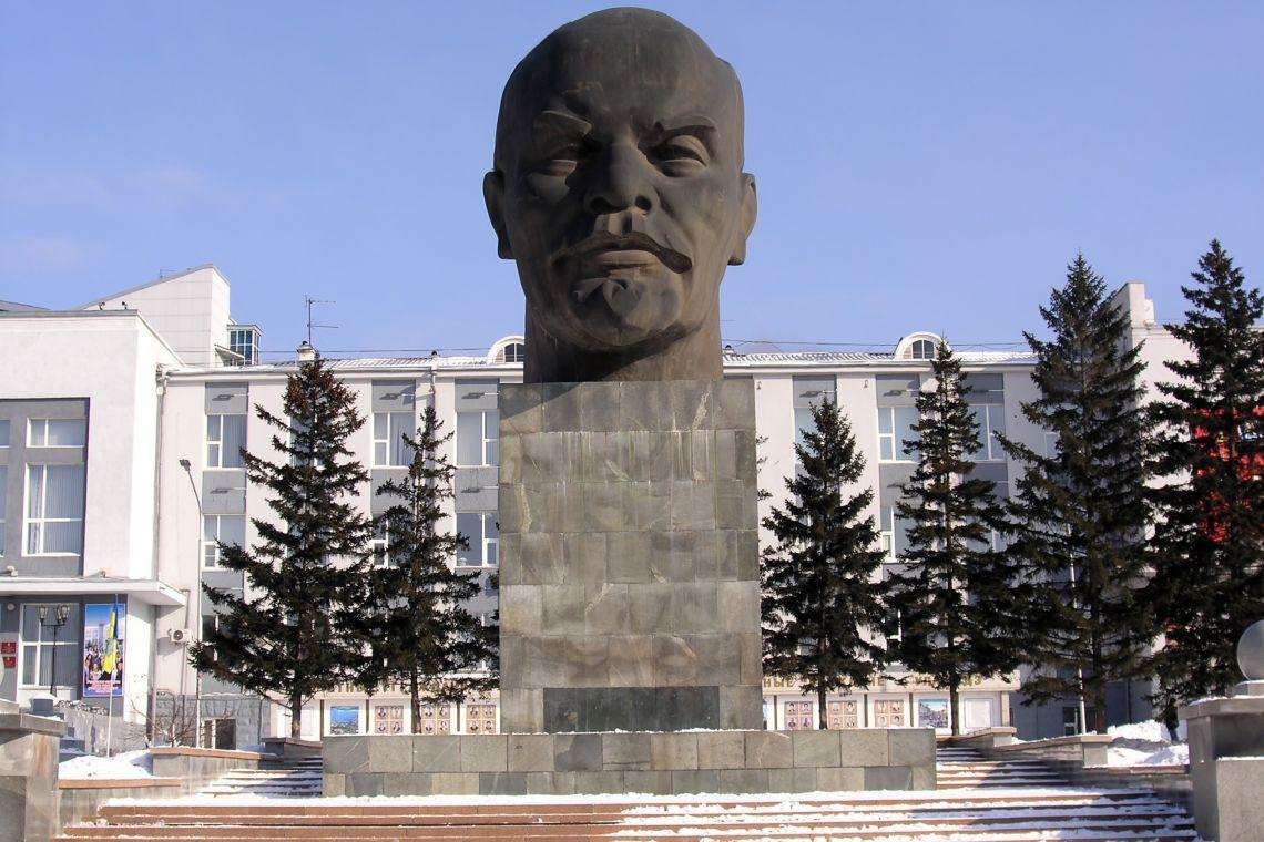 Lenin-Büste in Ulan-Ude