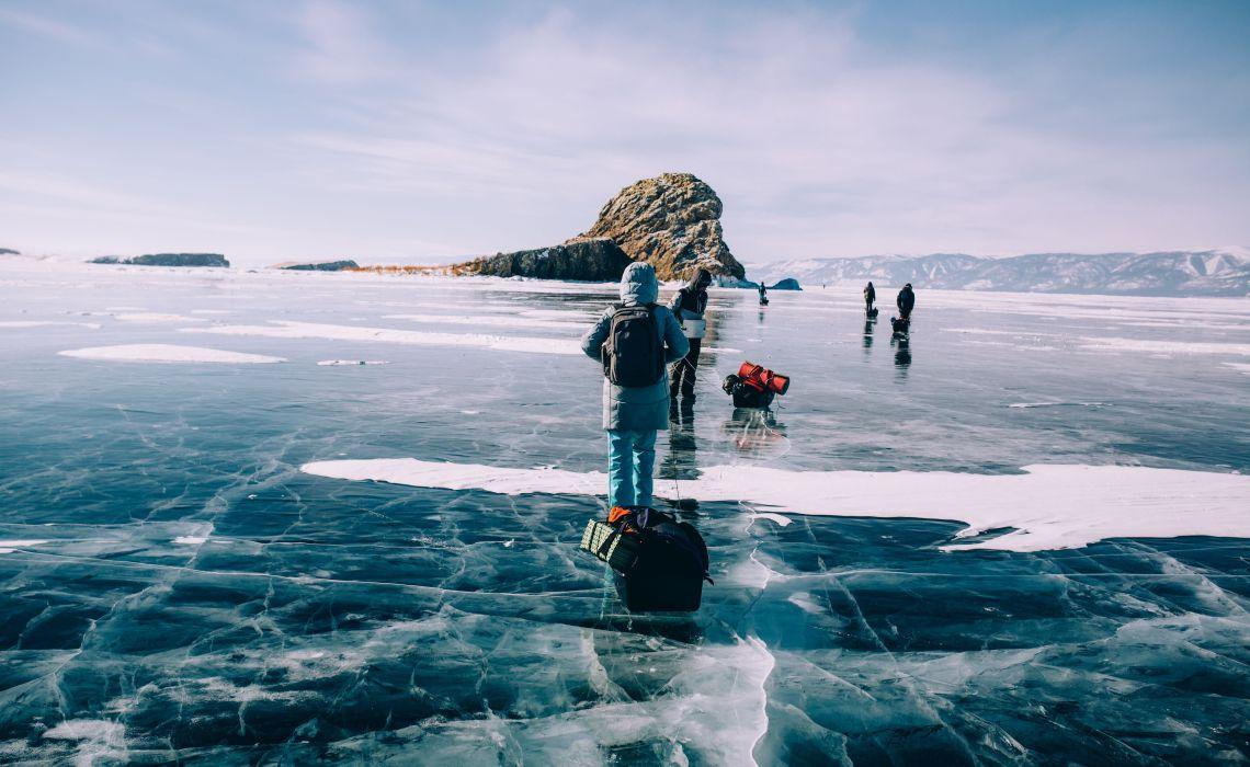 Wandern auf dem Baikaleis