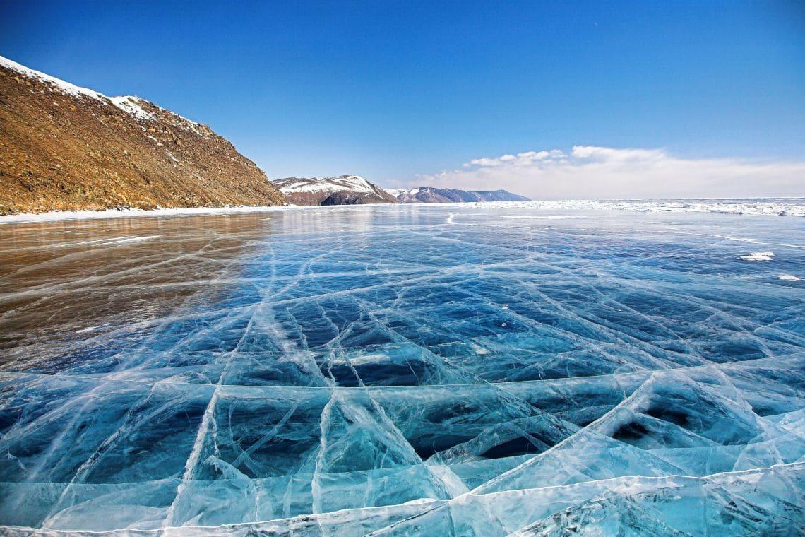 Baikal im Winter