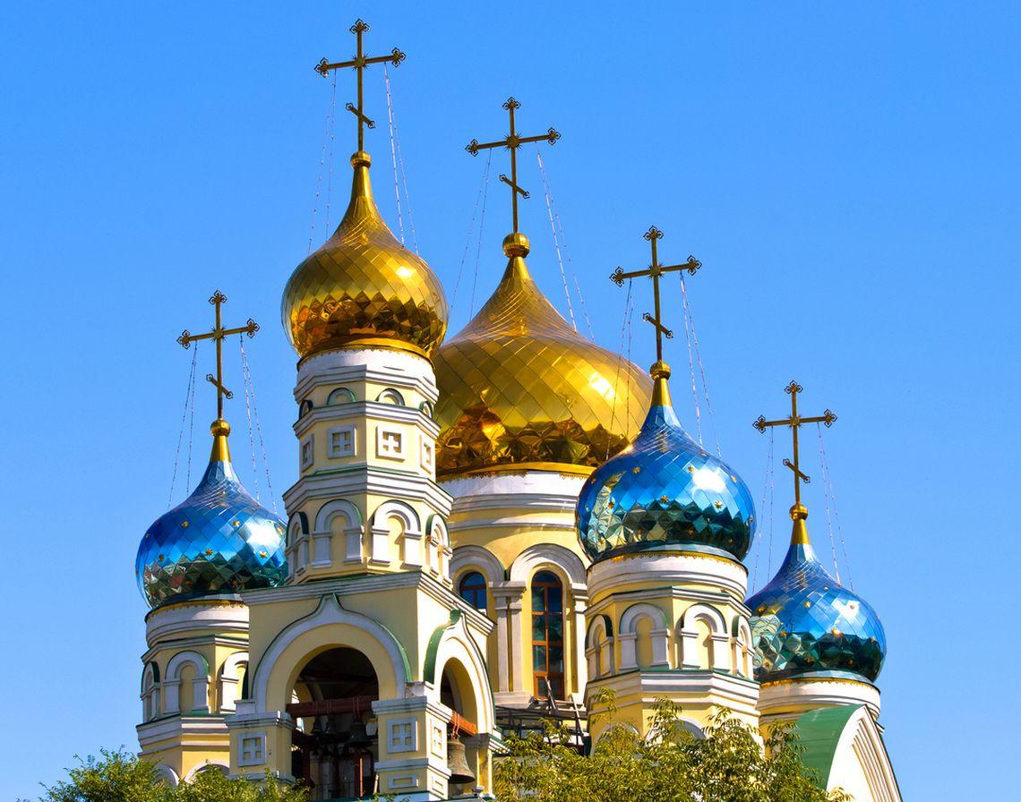 """Kathedrale """"Fürsprache der Heiligen Jungfrau"""" in Wladiwostok"""