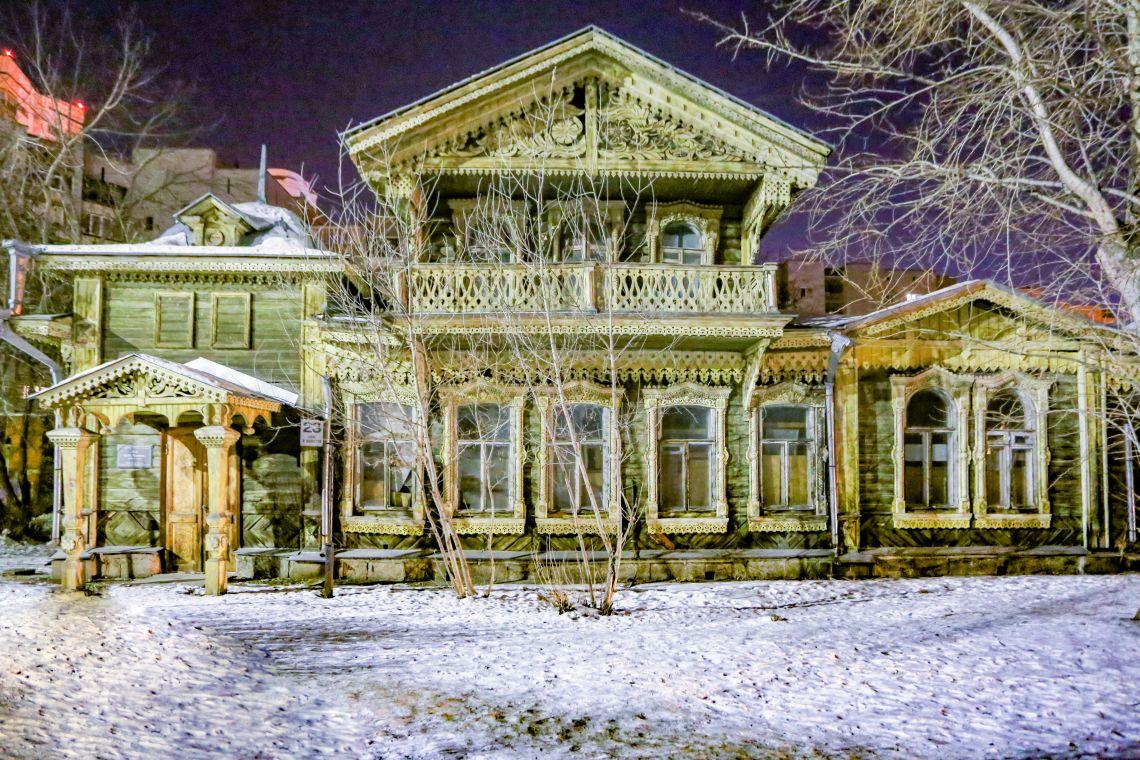 Holzhaus in Jekaterinburg