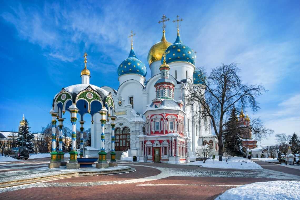 Sergijew Possad. Mariä-Entschlafens-Kathedrale