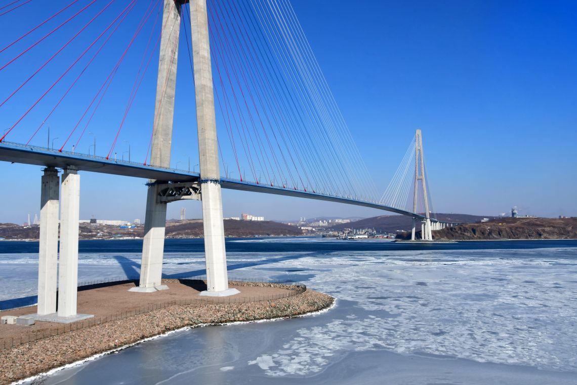 Wladiwostok. Russki-Brücke