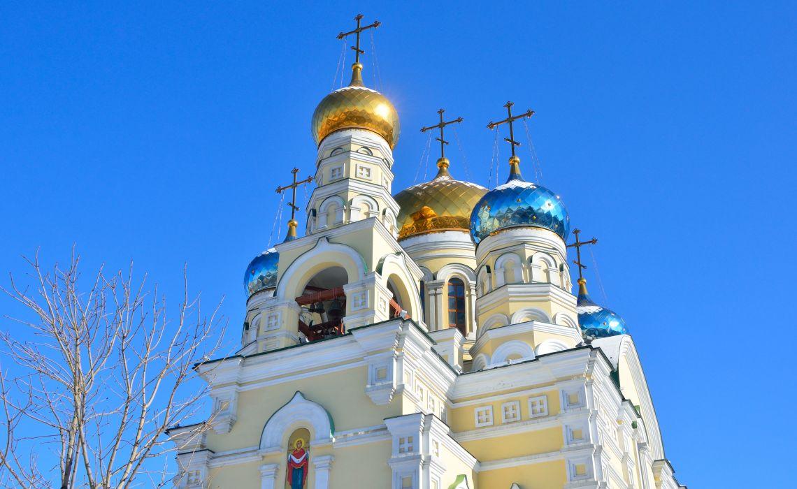 Wladiwostok. Kathedrale der Fürbitte der heiligen Jungfrau