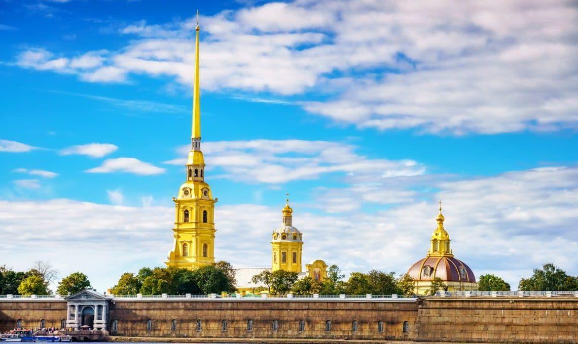 Peter-Paul-Festung in St. Petersburg
